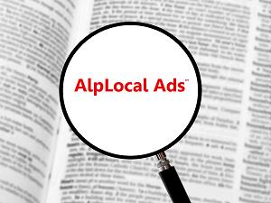 AlpLocal Pas Shops Mobile Ads
